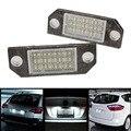 2Pcs White 24 LED Car Number License Plate Light Lamp for Ford Focus C-MAX MK2