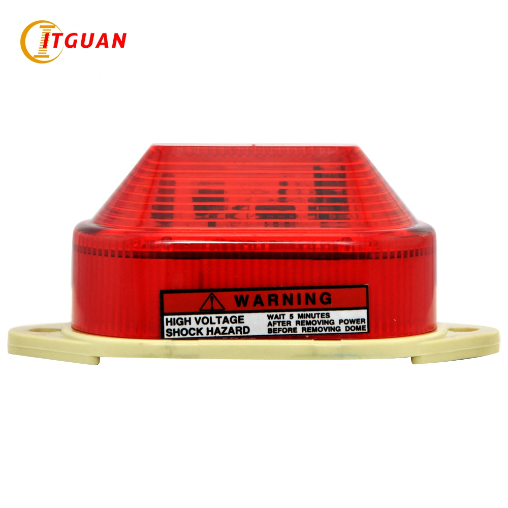 LTE-5051 Mini Warning Light Led Strobe Warning Light DC12V/24V/AC220V Diameter 84MM Beacon Light Emergengy Signal Lamp lte 5071j led strobe warning light alarm dc12v 24v ac220v signal emergency lamp with buzzer sound 90db beacon light