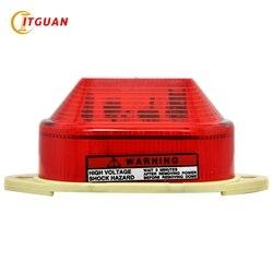 LTE-5051 Mini Warnung Licht Led Strobe Warn Licht DC12V/24 V/AC220V Durchmesser 84MM Leuchtfeuer Licht Emergengy signal Lampe
