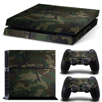 Cartoon Game Skin Stickers For PS4 Console Cheap Dropshipping And Retail Vinyl Game Decals For PS4