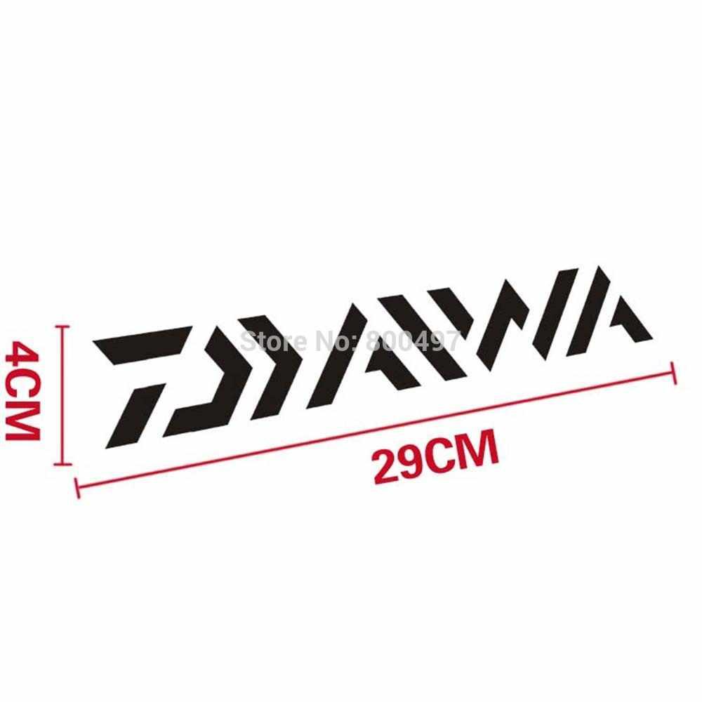 Daiwa Divertente Sticker Car Auto Della Decalcomania del PVC Accessori Auto Adesivo per Tesla Toyota Chevrolet Hyundai Kia Lada