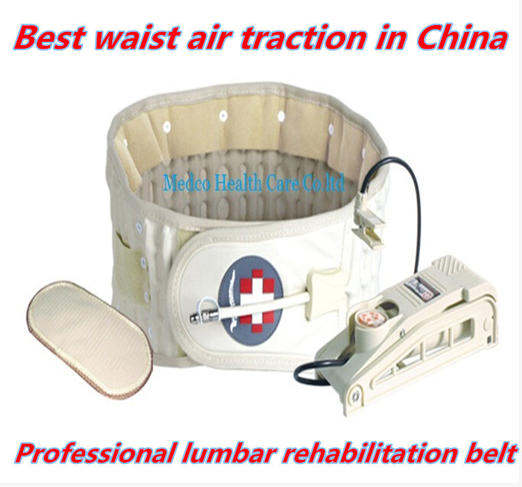 Free shipping 10pcs/lot China best Lumbar traction apparatus spinal waist air traction waist therapy device hand or foot pump free shipping 10pcs smd foot hcpl3101 a3101