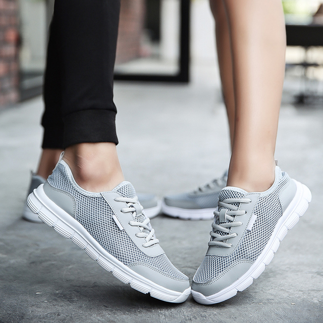 Summer Men Running Shoes Cheap Mesh Breathable Casual Comfortable Sneakers Lightweight Jogging Walking Shoes Plus size YL504