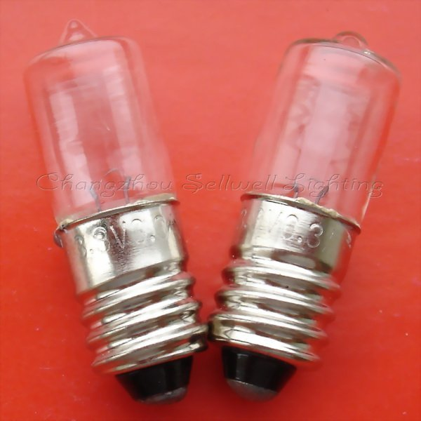 Good!miniature Lamp Bulb 3.8v 0.3a E10 Free Shipping A565