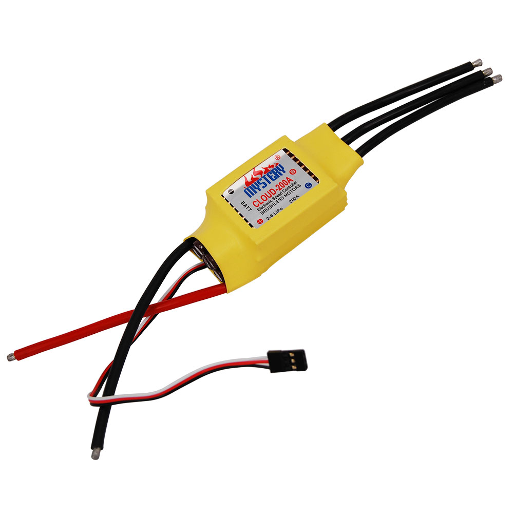 Peradix Hot New Mystery RC 200A Brushless ESC for Boat V2.1 RC Model Speed Controller Parts Accessories For Boat low price sell brushless esc for car boats rc model 50a brushless esc for boat with water cooling system brake xxd50a