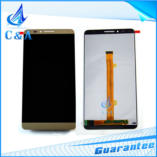 5 pcs tested DHL/EMS post replacement repair part 6 inch screen for Huawei Ascend mate7 lcd display with touch digitizer