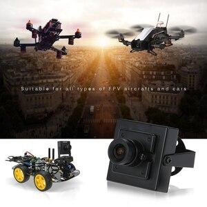 """Мини HD 700TVL 1/3 """"CMOS NTSC 3,6 мм MTV Объектив Мини CCTV безопасности Видео FPV Цветная камера"""