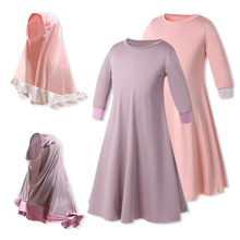 0ba27f494536f Buy flower girl dress muslim and get free shipping on AliExpress.com