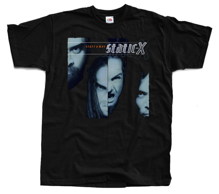 STATIC X Start a War T-Shirt (Black) S-5XL ...