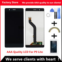 AAA Quality LCD Frame For HUAWEI P9 Lite Lcd Display Screen Replacement For HUAWEI P9 Lite