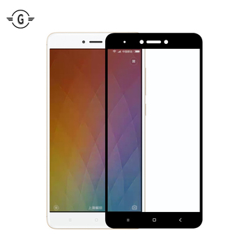 Full Cover Curved REDMI note 4 Global Version Tempered Glass Screen Protective Flim For Xiaomi Redmi note 4X Screen Protector
