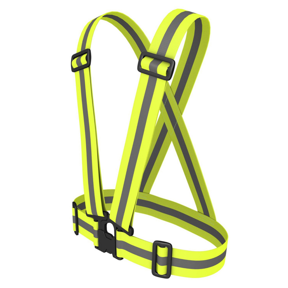 High Visibility Vest >> Unisex Safety vest High Visibility reflection vest Waistcoat Outdoor Running Cycling Vest ...