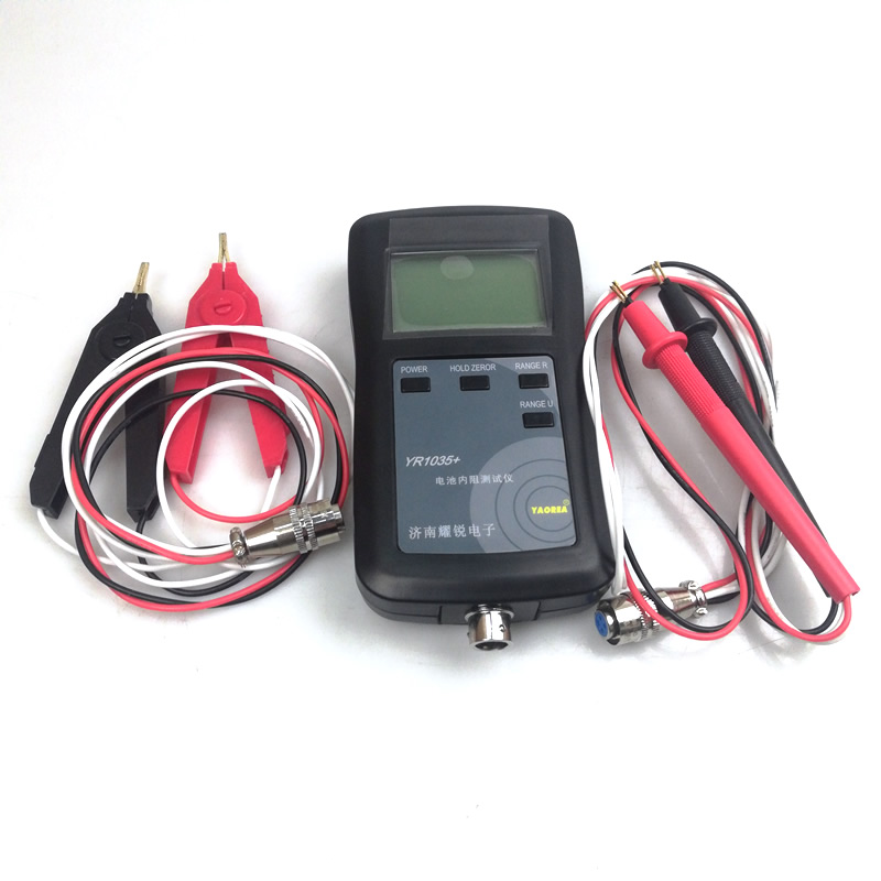 four line YR1035 high precision lithium battery internal resistance tester