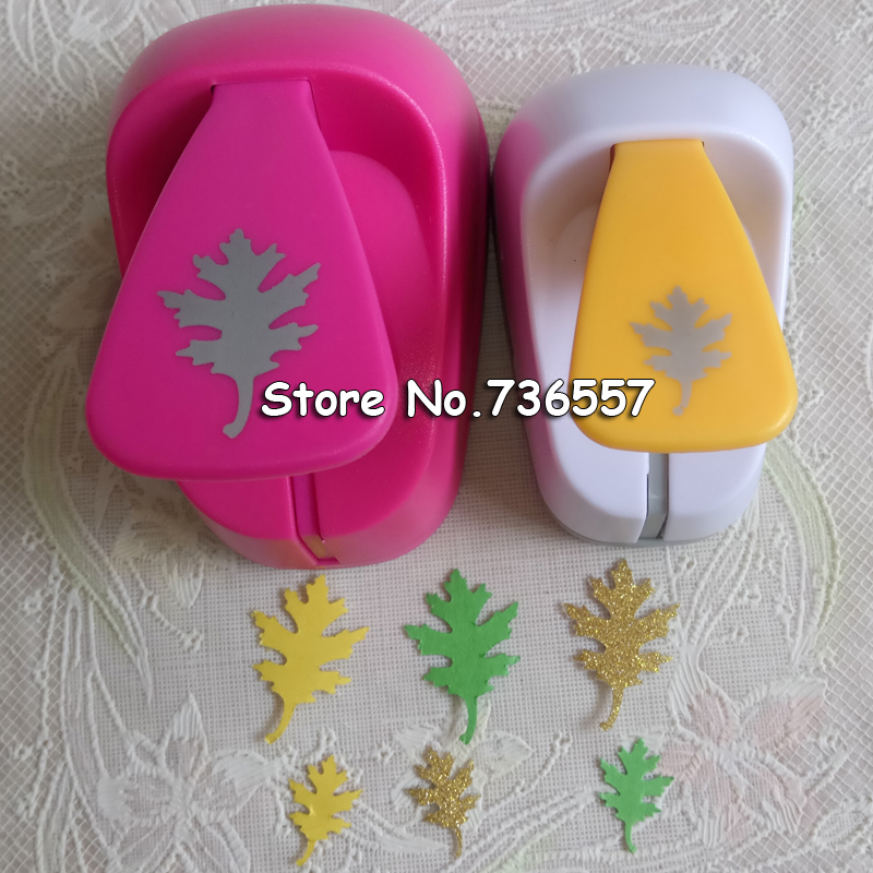 Freesship Leaves 16mm 25mm 35mm 48mm Craft Punch Twig Leaf Punch Craft Scrapbooking Paper Puncher Tree Shaped Punches