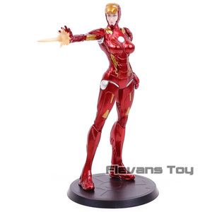 Image 5 - Super herói stark indústrias x faction ferro senhora pimenta potts mk8 pvc figura de ação collectible modelo brinquedo