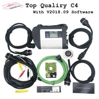 V03.2019 Full Chip MB STAR C4 SD Connect C4 Multiplexer Full Set Cable Car Diagnostic Tool MB C4 For Car/Truck WIFI connection