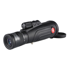 Super Zoom Monocular Telescope 8-20x50 Black HD lll Night Vision Zooming Monoculars Long Eye Relief Outdoor Travel Monoscope
