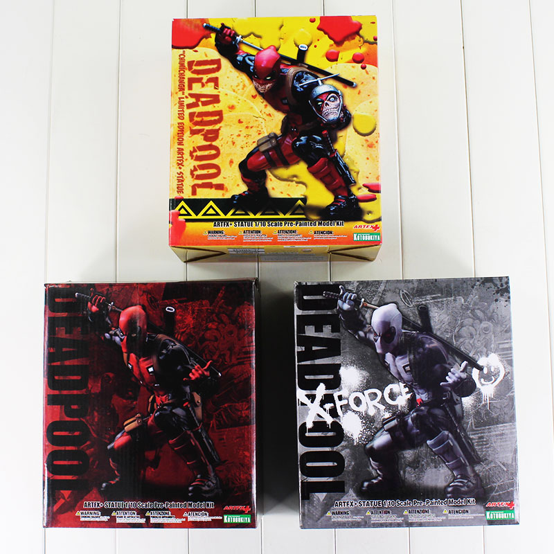 So Cool 3 Styles Super Hero X-MAN Deadpool Figure PVC Doll Deadpool Action Figure Collectible Toy Christmas Gifts With Box figma x man series spiderman figure no 001 revoltech deadpool with bracket no 002 revoltech spider man action figures