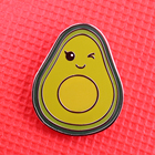 Avocado enamel pin v...