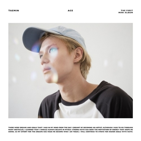 SHINEE TAEMIN 1ST MINI ALBUM - ACE RANDOM COVER KPOP shinee the 2nd concert album shinee world ii in seoul 44p lyric book release date 2014 4 2 kpop