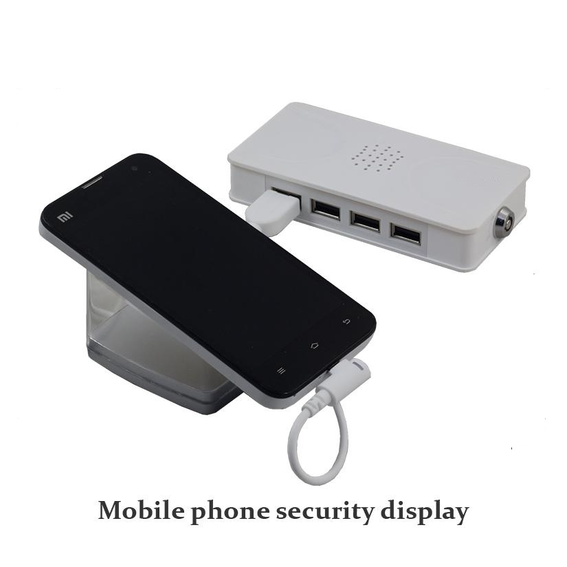 remote control centralized security 8 port alarm charging holder stand for android smartphone
