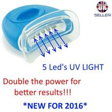 TEETH WHITENING LIGHT, LASER, UV, PLASMA, LED, WHITENING ACCELERATOR, 5 LEDs