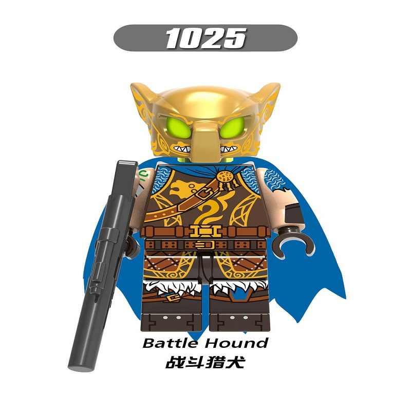 LegoINGly Fortnited TPS Action Figure Battle Hound Red Knight Love Ranger Magnus Building Blocks Kids Toys for Children X0228