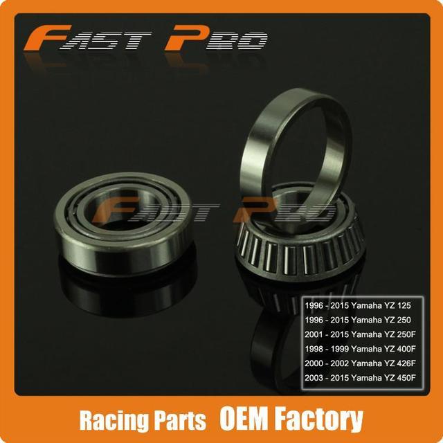 Steering Stem Head Race Bearings For YZ125 YZ250 96-15 YZ250F 01-15 YZ400F 98-99 YZ426F 00-02 YZ450F 03-15 Motocross Enduro
