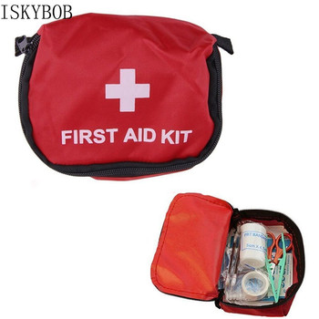 цена на Portable Empty First Aid Bag Kit Pouch Home Office Medical Emergency Travel Rescue Case Bag Medical Package Travel Accessories