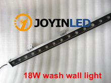 Фотография High-power 18W 46*46*1000 IP65 waterproof outdoor led flood light LED Wall washer lamp Landscape Wash wall light Warm white/RGB