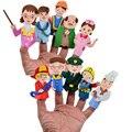 BOHS 10 unids de Espuma EVA Historia Props Ocupación Empleos Ingenieros Profesores Doctores Animales Marioneta de Juguete Juego de Roles