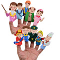 BOHS 10pcs EVA Foam Story Props Occupation Jobs Teachers Engineers Doctors Animals Puppet Role Play Toy