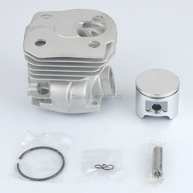 New 44mm Cylinder Piston Kits for HUSQVARNA 346XP 350 351 353 Chainsaw (low) 2 pcs new 44mm cylinder