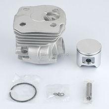 Neue 44mm Zylinder Kolben-kits für HUSQVARNA 346XP 350 351 353 Kettensäge (low)