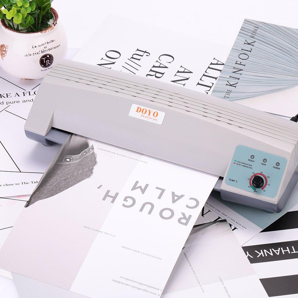 A4 Photo Laminator Paper Film Document Thermal Hot&Cold Laminator A4 Plastificadora Termolaminar Plastifieuse Laminating Machine