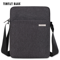 TINYAT Men S Shoulder Bag Multifunctional Man Casual Messenger Bag For Ipad Phone Canvas Sling Bag