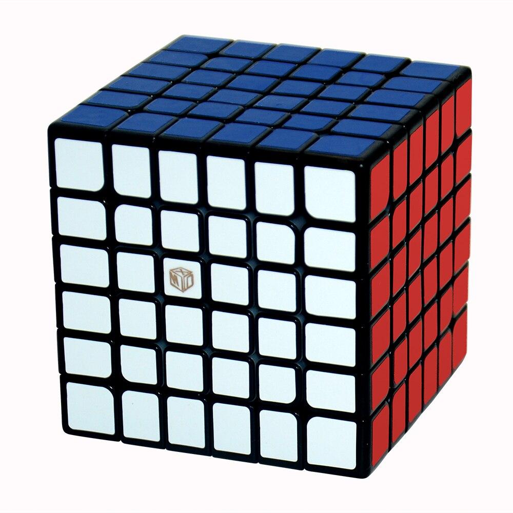Qiyi X-MAN Ombre M 6x6x6Layer Magnétique SpeedCube Magie Cube XMD Ombre Mofangge Magique Cube Puzzle Jouets Pour Enfants
