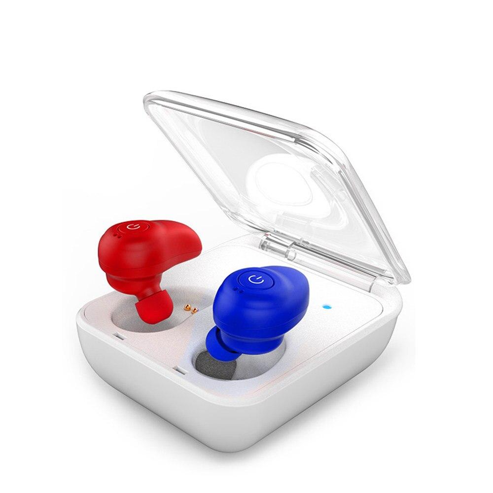 ФОТО Newest T8 Mini Twins True Wireless Bluetooth Earphones CSR 4.1 Handsfree Earbuds TWS Bluetooth Headset With Charging Socket