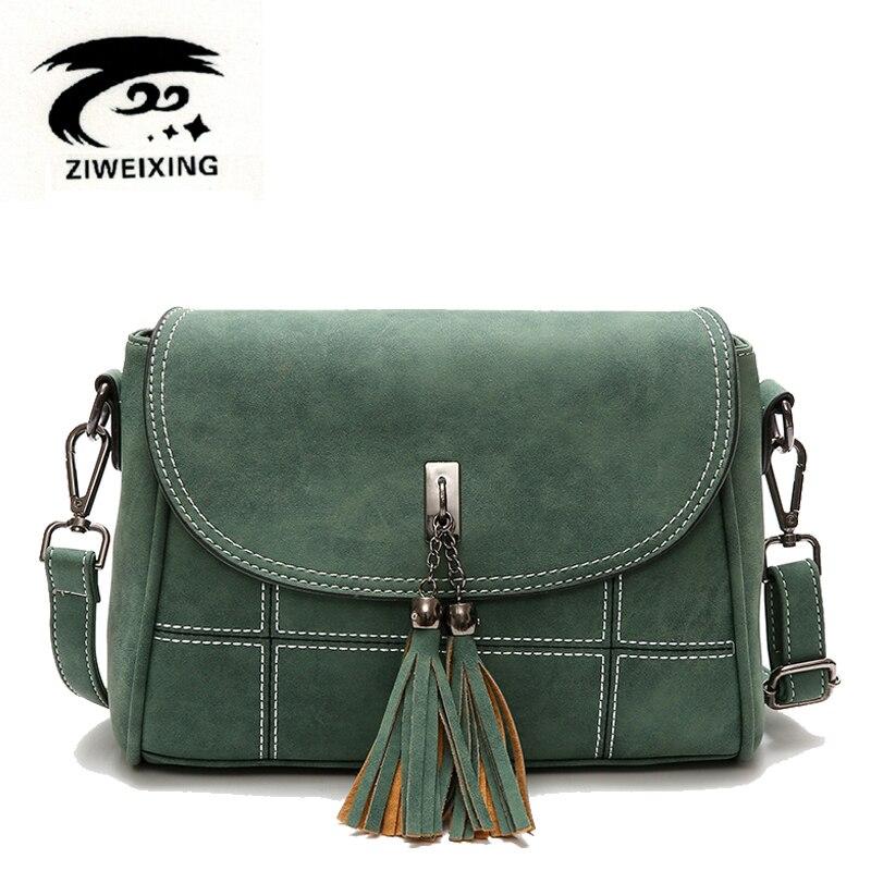 bd5acbfc7b6 Nubuck Kwastje Dames Messenger Bags Dames Ontwerper Handtassen ...
