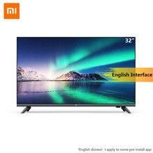 Xiaomi AI Полный Экран Smart tv E32A 32 дюйма 1G ram 4G HD интеллектуальное телевидение HDMI wifi игры полный дисплей ТВ с DTS