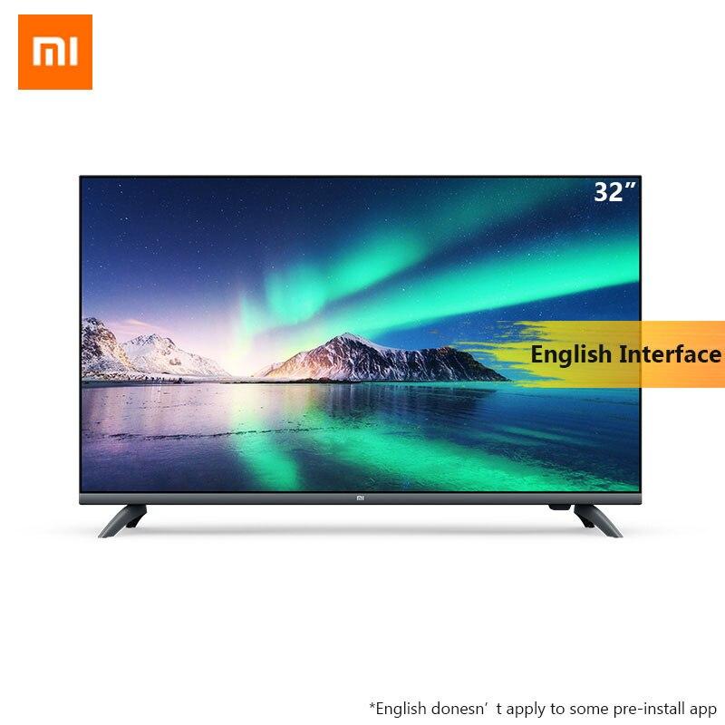 Original Xiaomi AI écran complet Smart TV E32A 32 pouces 1G RAM 4G HD Intelligence télévision HDMI WIFI jeu TV à affichage complet avec DTS