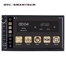 SMARTECH 2 Din Octa Core Android 9 Auto Radio di Navigazione GPS Autoradio Sistema 4 GB di RAM 32 GB di ROM Supporto TPMS 3G WIFI DAB OBD DVR