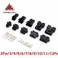 Разъемы для 3D-принтера SM2/3/4/5/6/7/8/9/10/11/12 Pin Pitch 2,54 мм, корпус «Мама» и «папа» + клеммы, SM-2P, JST SM2.54