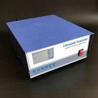1000W Ultrasonic Generator 20khz,25khz,28khz,30khz,33khz,40khz Ultrasonic Mist Generator , Ultrasonic High Power Pulse Generator