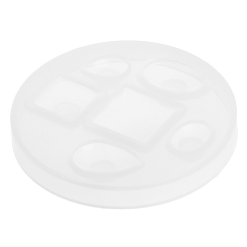 DIY Silicone Pendant Mold Drops Making Jewelry Pendant Resin Casting Mould Craft