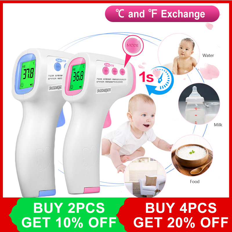 Cofoe Forehead Thermometer Infrared Non-Contact LCD IR Thermometer Body Temperature Measurement Diagnostic Device for Baby AdultCofoe Forehead Thermometer Infrared Non-Contact LCD IR Thermometer Body Temperature Measurement Diagnostic Device for Baby Adult