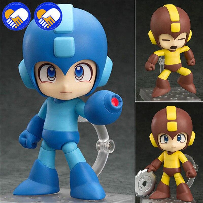 New 1Pc 9cm Rockman Action Figure Nendoroid Megaman X Zero Figures 556b# Mega Man Model Toys Anime Rock man Doll With Box ( China Version )
