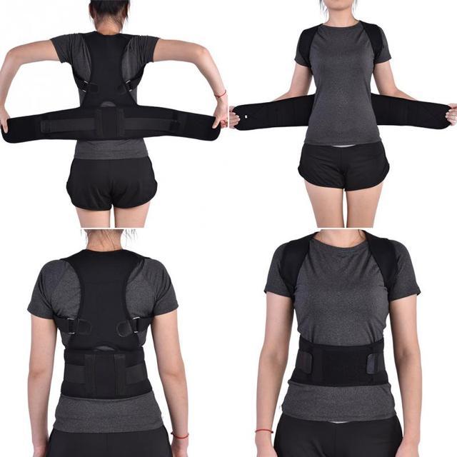 Black XL Posture brace 5c64ca34e8ac8
