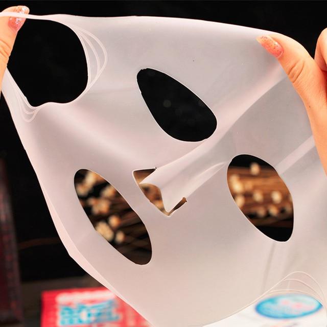 Nouvelle Arrivée Silicone Visage masque Couverture Prévenir Masque Essence L'évaporation Le Rythme D'absorption Hydratant Visage Masque Couverture 5
