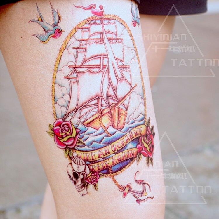 Amato Online Shop Tempoary corpo tatuaggio grafica adesivo trucco di  KL03